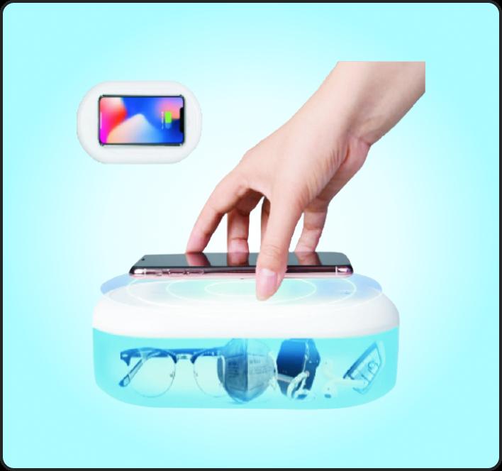UV Sterilizer with Wireless Fast Charging