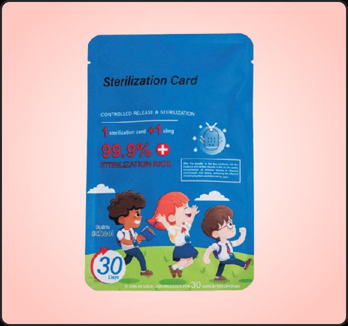 Shut out- Sterilization Card