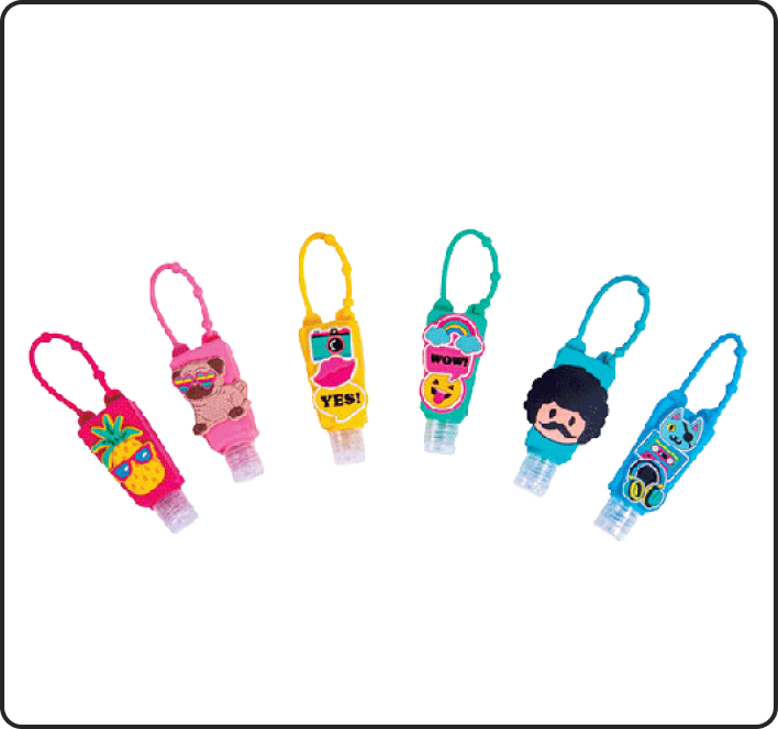 Mini Travel Sanitizer Bottles
