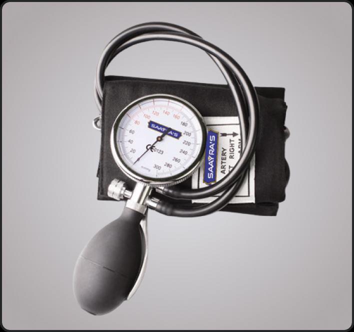 PALM TYPE SPHYGMOMANOMETER SERIES (2-TUBE) EM-201C2
