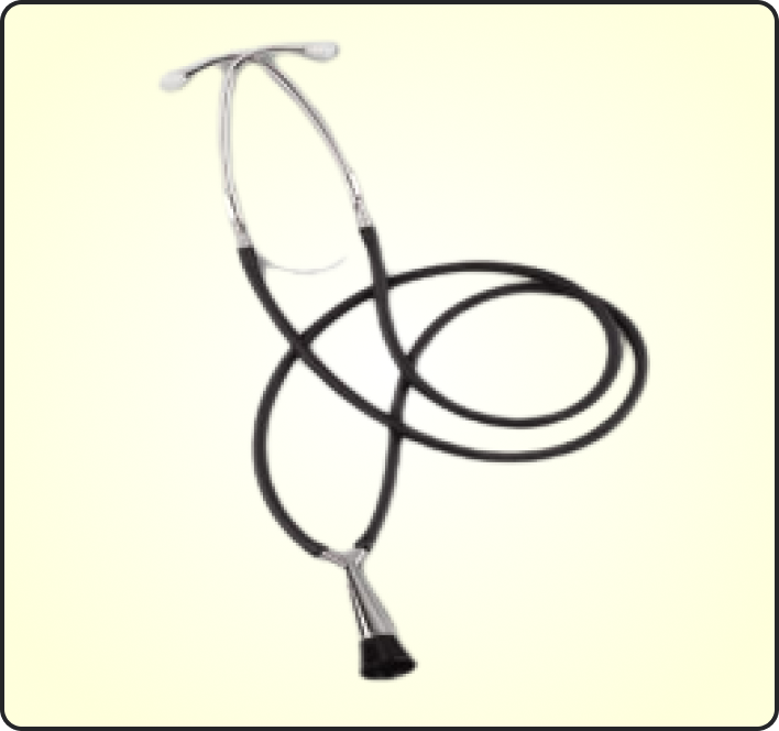DELUXE DUAL HEAD STETHOSCOPE FOR ADULT EM-30L
