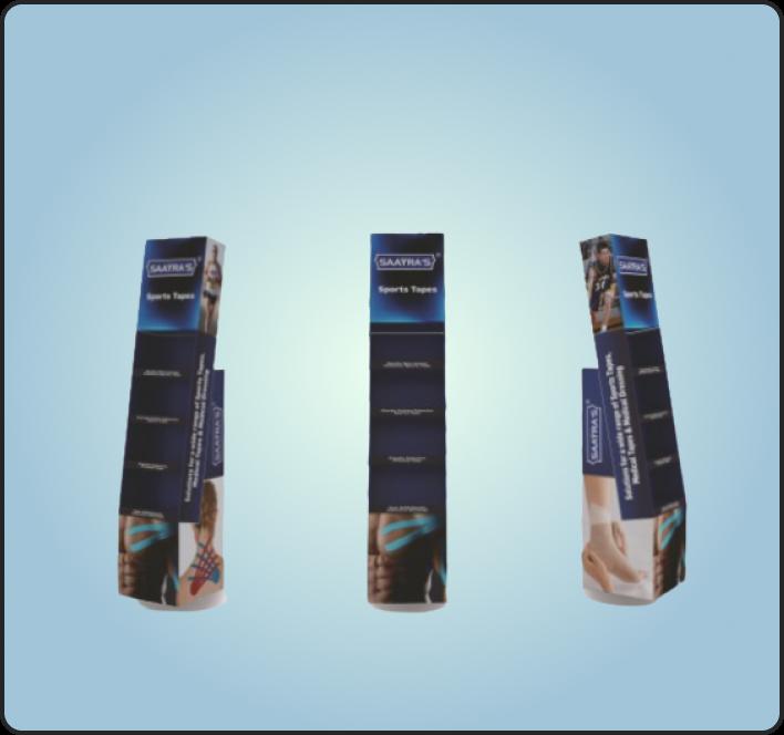 DISPLAY STANDS – 4 SHELVES