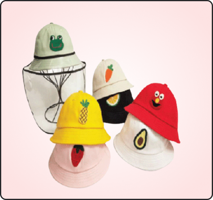 Kids Hats with Faceshield Manufacturers and Suppliers in China