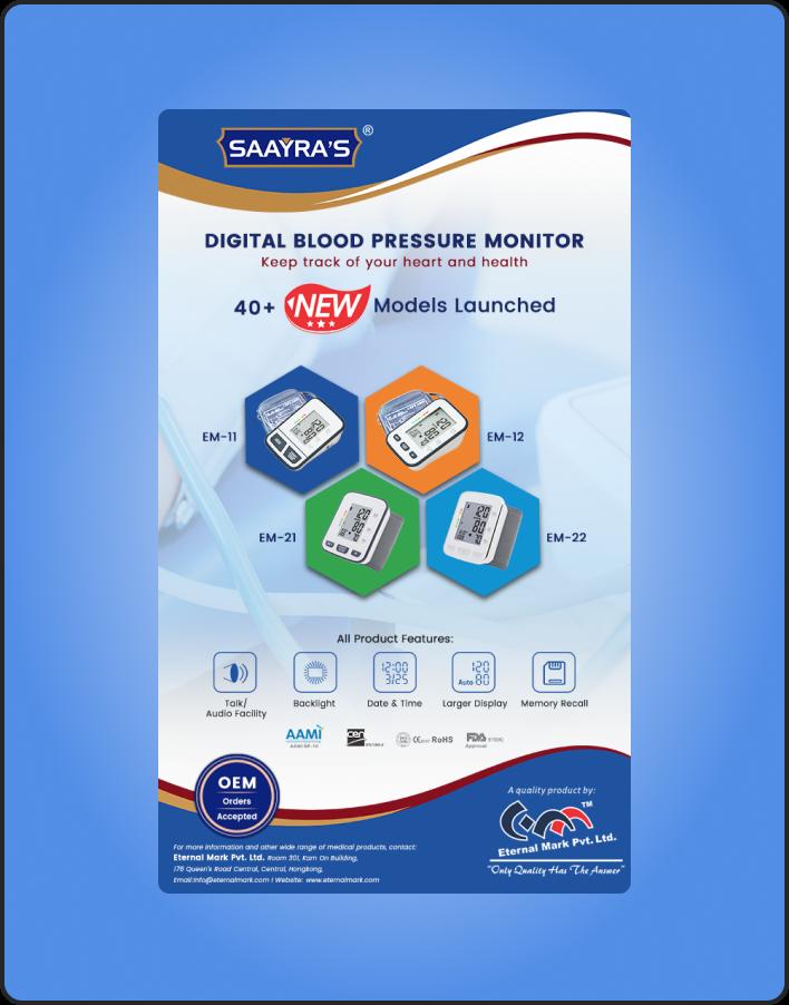 Digital Blood Preassure Monitor