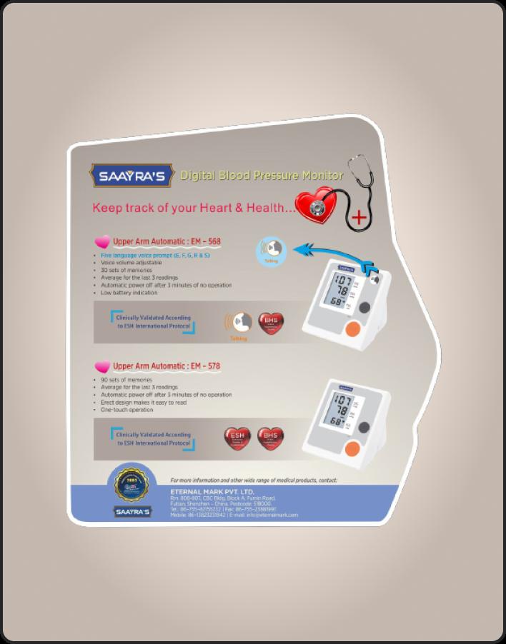 Digital Blood Preassure Monitor-1