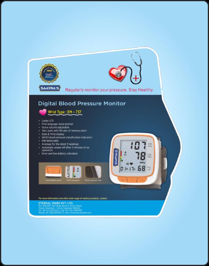 Digital Blood Preassure Monitor-2