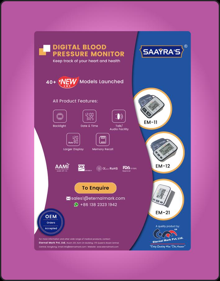 Eternal Mark Digital BP Monitor-1