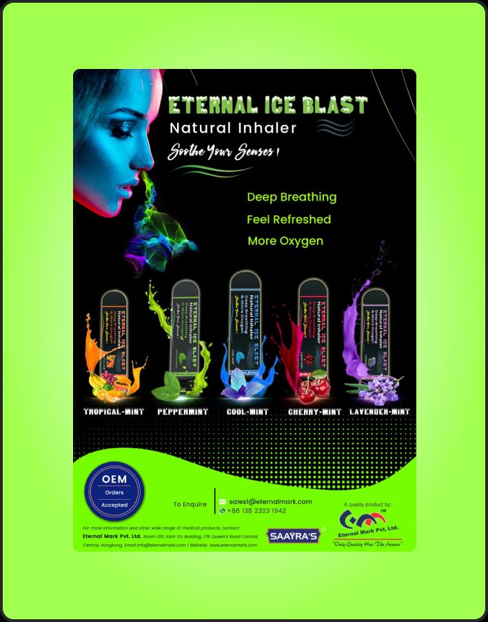 Eternal Ice Blast Natural Inhaler-1