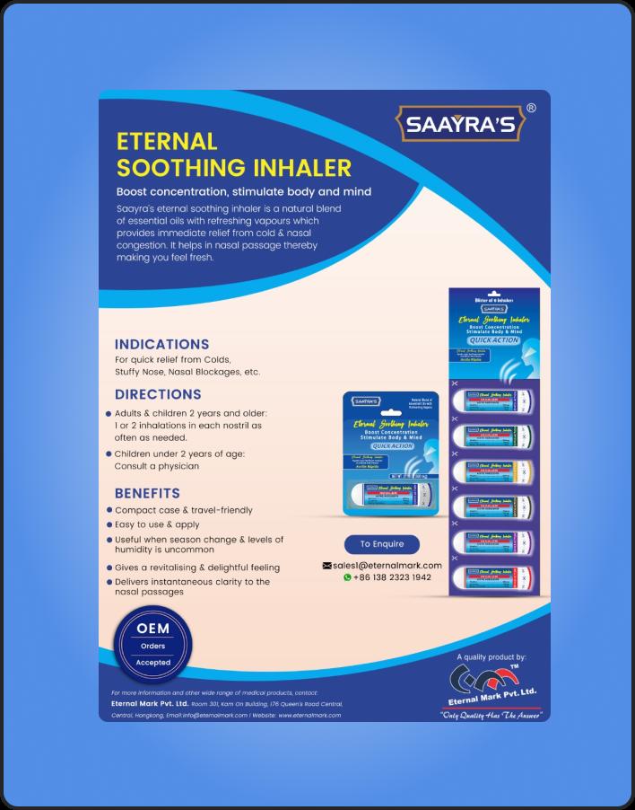 Eternal Soothing Inhaler