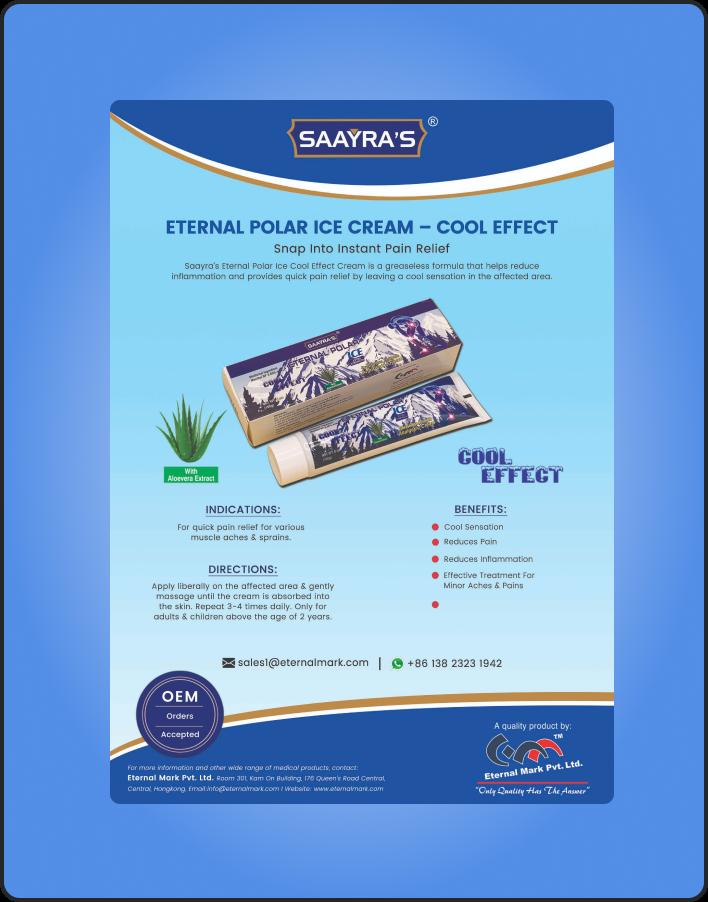 Eternal Polar Ice Cream - Heat Effect