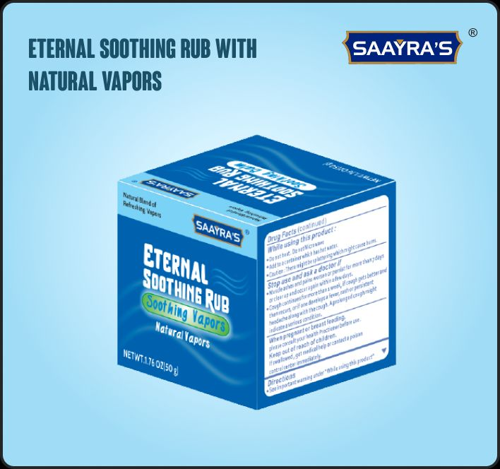Eternal Soothing Rub with Natural Vapors