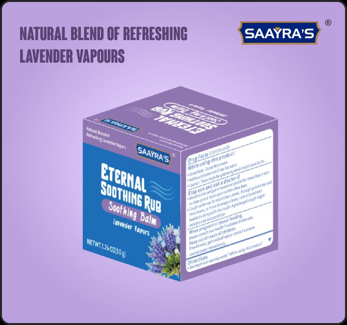Eternal Soothing Rub With Lavender Vapors